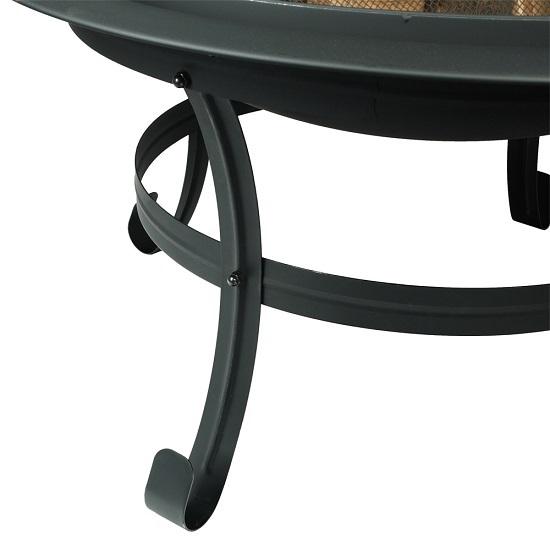 feuerkorb mit funkenschutz feuerschale feuer schale garten. Black Bedroom Furniture Sets. Home Design Ideas